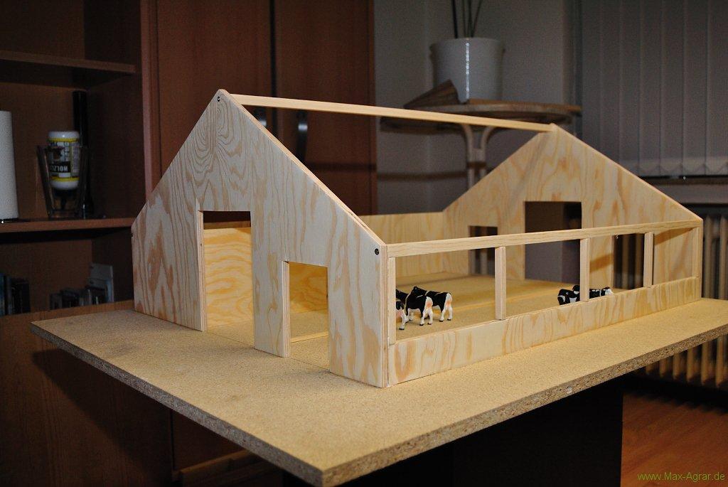 der kuhstall auf unserem siku bauernhof diorama. Black Bedroom Furniture Sets. Home Design Ideas